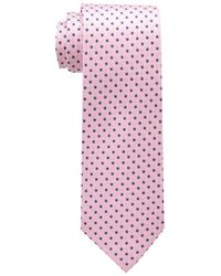 Tommy Hilfiger Pink Core Neat I Tie for men
