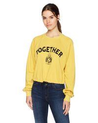 Pam & Gela Yellow Together Sweatshirt