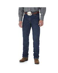 Wrangler Blue Big & Tall George Strait Cowboy Cut Original Fit Jean, Dark Stone, 36w X 38l for men