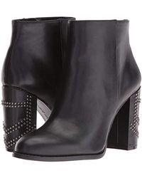Nine West Black Qualinia Leather Boot