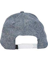 Billabong Blue All Day Snapback Hat for men