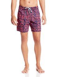Volcom Red Brotique Boardshort for men