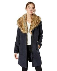 Ellen Tracy Multicolor Zip Front Coat