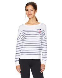 Betsey Johnson White Sweatshirt