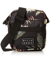 Billabong Black Pass By Cross Body Bag