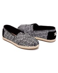 TOMS Multicolor Navy Canvas Classic 001001b07-nvy for men
