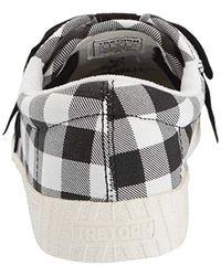 Tretorn Nylitebow Sneaker, Black/white, 4.5 M Us