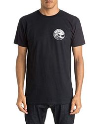 Quiksilver Black Fission T-shirt for men