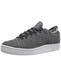 K-swiss Gray Classic 88 Sport T Fashion Sneaker for men
