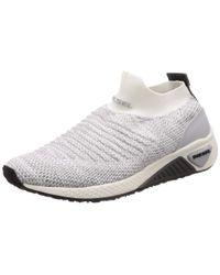 DIESEL Gray KB ATHL Sock W - Sneakers