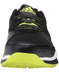 Adidas Black Performance Crazy Train Cross-training Shoe for men