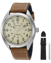 Montre - - NAPBTP009 Nautica pour homme en coloris Brown