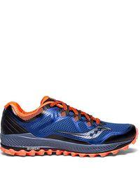Saucony Blue Peregrine 8 Running Shoe for men