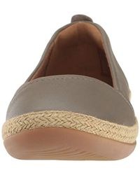 Clarks Brown Danelly Alanza Flat