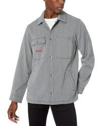 Volcom Gray Wilcey Workwear Jacket for men