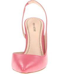 Pour La Victoire Pink Maira Slingback Pump