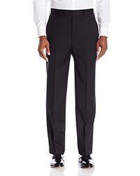 Jones New York Classic Fit Black Solid Suit for men