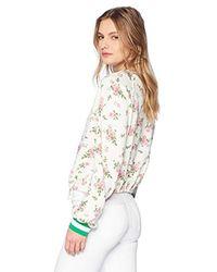 Pam & Gela Multicolor Cropped Sweatshirt