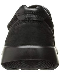 Ecco Black Soft 5 Slip On Sneaker