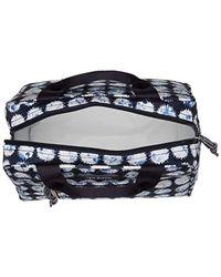 Vera Bradley Blue Lighten Up Lunch Cooler, Polyester