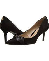 Lauren by Ralph Lauren Lee (black/black Kid Suede/super Soft Leather) Shoes