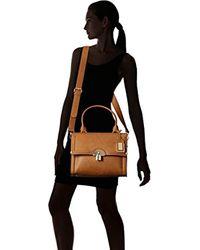 ALDO Brown Abilidien Top Handle Handbag