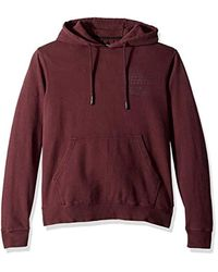 O'neill Sportswear Red Classic Pullover Sweatshirt Hoodie for men