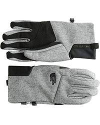 Apex + Etip Glove - TNF Medium Grey Heather (Std) - S di The North Face in Multicolor da Uomo