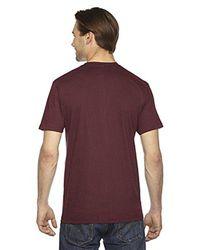 American Apparel Purple 2001 - Unisex Fine Jersey Short-sleeve T-shirt for men