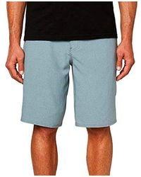 O'neill Sportswear Blue Hybrid Short, 21 Inch Outseam for men