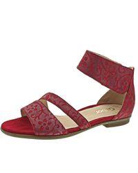 Gabor Red Sandalette rot Weite F Gr.39 EU
