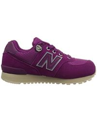 New Balance Purple KL574 Mädchen Sneakers