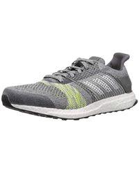 Ultra Boost St M, Chaussures de Running Entrainement Adidas pour homme en coloris Gray
