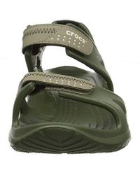 Crocs™ Herren Swiftwater River M Sandalen in Green für Herren