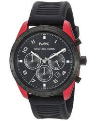 MK8688 Orologio Da Uomo di Michael Kors in Black da Uomo