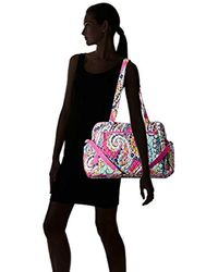 Vera Bradley Multicolor Stroll Around Baby Bag, Signature Cotton