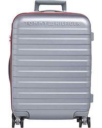 Tommy Hilfiger Metallic Lux Haro Cabin Size Trolley 4 Wheels 55 Cm