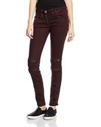Lynn Custom Mid Waist Skinny Colored Pantalones para Mujer G-Star RAW de color Multicolor