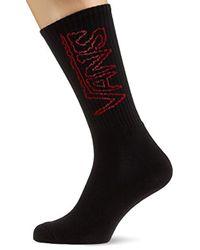 Vans Black Socks Sketch Tape Crew (9.5-13) Socks for men
