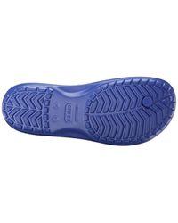 Crocband Flip, Chanclas Unisex Adulto Crocs™ de hombre de color Blue