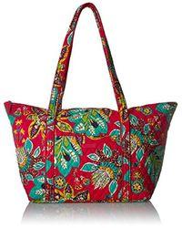 Vera Bradley Red Miller Bag