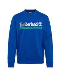 Established 1973 Sweat-shirt Bleu Timberland pour homme en coloris Blue