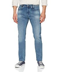 Jeans Tapered Uomo di DIESEL in Blue da Uomo