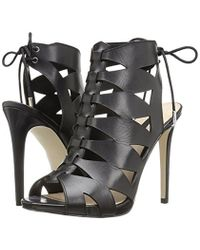 Guess Black Apex Platform Dress Sandal
