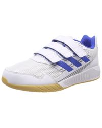 Altarun CF K Chaussures de Fitness Mixte Enfant Adidas en coloris Blue