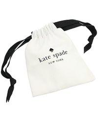 Kate Spade Metallic Pave Hinged Bangle Do The Twist Pave Hinged Clear/silver Bangle Bracelet