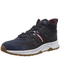 Fashion Modern Sneaker High Tommy Hilfiger de hombre de color Blue