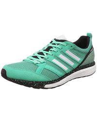 Adizero Tempo 9 M, Chaussures de Running Adidas pour homme en coloris Green
