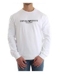 8N1ME8 1J04Z Sweat-Shirts XL Emporio Armani pour homme en coloris White