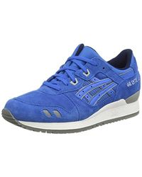 "Asics Blue Gel-lyte Iii ""puddle Pack"" Adult's Sneakers (h5u3l) for men"